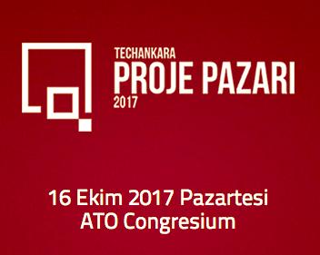 TechAnkara Proje Pazarı 2017'de ilk 100'deyiz!